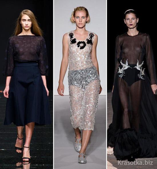 Прозрачные одежды для девушек 15 фотография